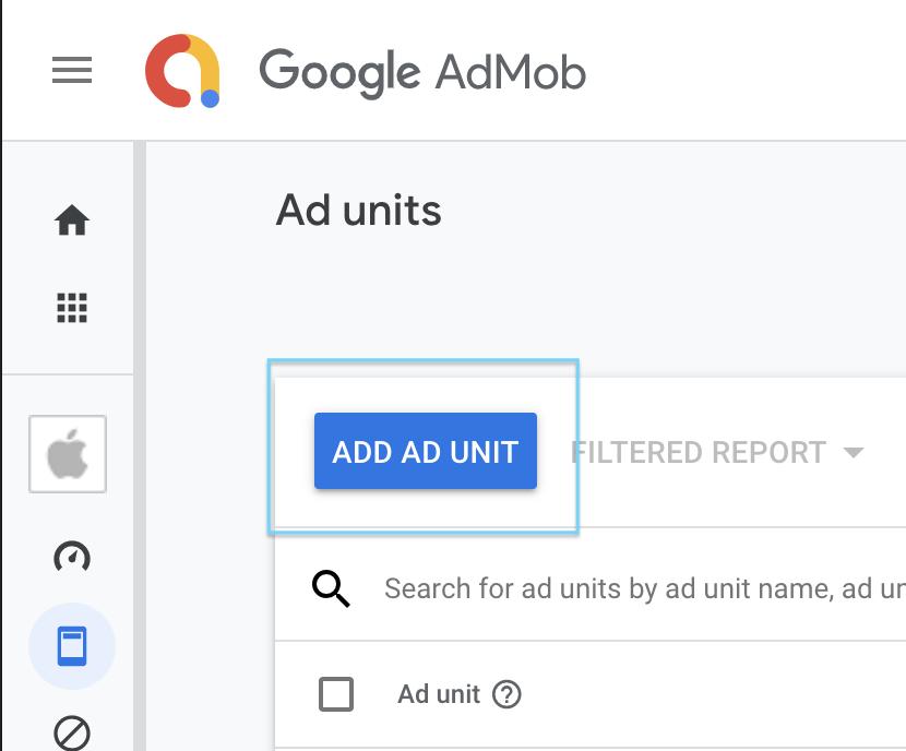 Admob Ad Unit