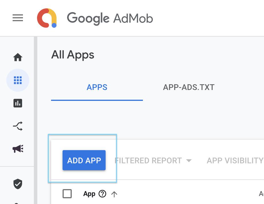 Admob App List