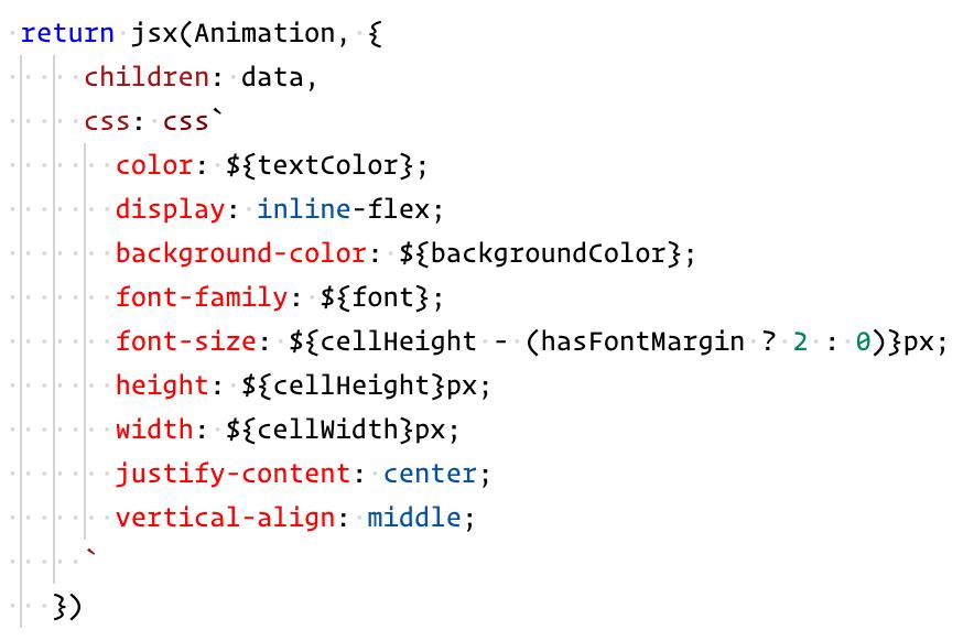 emotion jsx createElement
