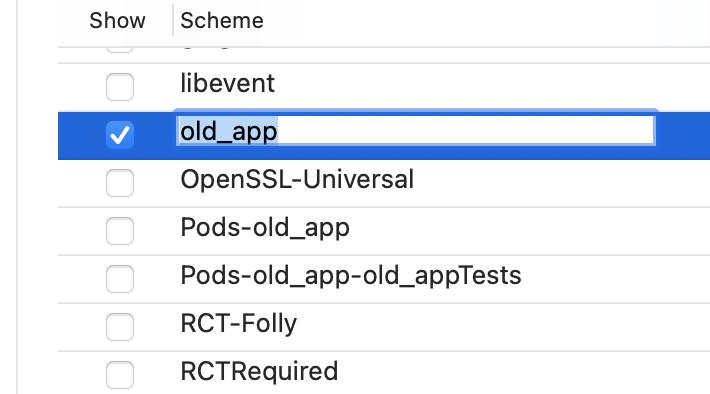 xcode editing schemes